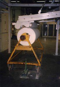 arrotolatore per contatto con rullo pressore