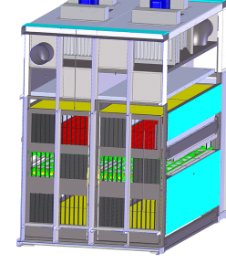 32-Sezione forno serrande porte APERTE